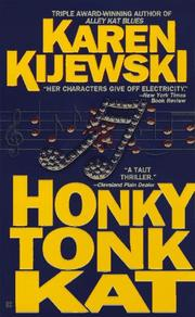 Cover of: Honky Tonk Kat (Kat Colorado Mysteries)