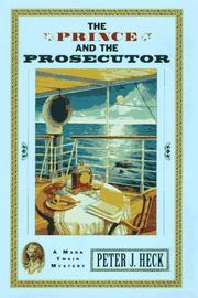 Cover of: The prince and the prosecutor