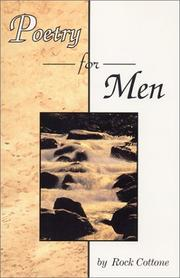 Cover of: Poetry for Men