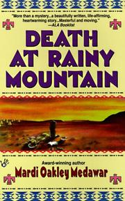 Cover of: Death at Rainy Mountain (Tay-Bodal Mystery Series , No 2)