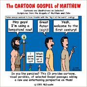 Cover of: The Cartoon Gospel of Matthew