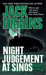 Cover of: Night judgement at Sinos: a novel