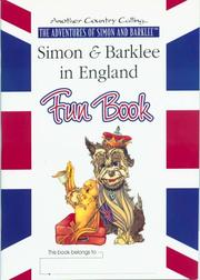 Cover of: Simon & Barklee in England, Fun Book | Catherine Scherer