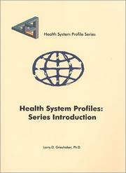 Cover of: Health System Profiles