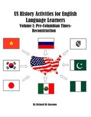 Cover of: US History Activities for English Language Learners
