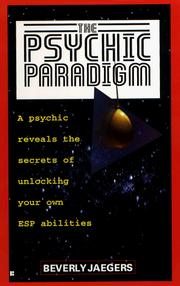 Cover of: The psychic paradigm