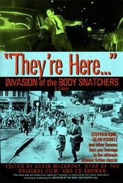 "Cover of: ""They're here-- """
