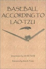 Cover of: Baseball According to Lao-Tzu