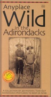 Cover of: Anyplace Wild in the Adirondacks