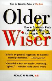 Cover of: Older and Wiser | Richard M. Restak