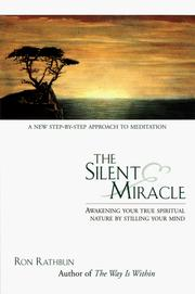 Cover of: The silent miracle