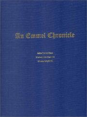 Cover of: An Emmel Chronicle | Aetna Emmel Olson