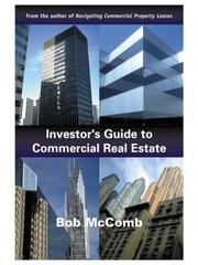 Cover of: Investor's Guide to Commercial Real Estate