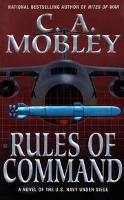 Cover of: Rules of Command | C. A. Mobley