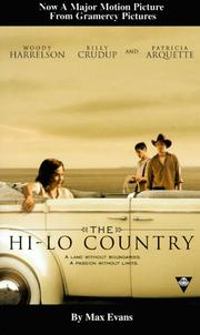 Cover of: The Hi Lo country