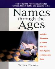 Cover of: Names through the ages