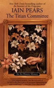 Cover of: The Titian Committee (Art History Mystery)