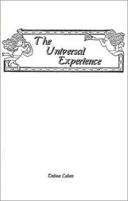 Cover of: The Universal Experience