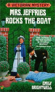 Cover of: Mrs. Jeffries rocks the boat