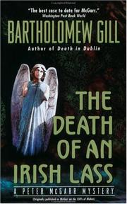 Cover of: The Death of an Irish Lass (Peter McGarr Mysteries)