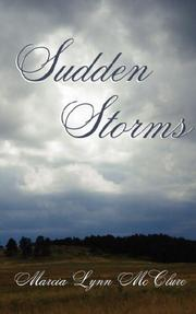 Cover of: Sudden Storms
