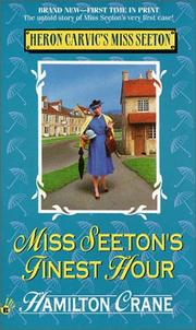 Cover of: Miss Seeton's finest hour (Heron Carvic's Miss Seeton)