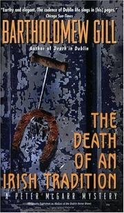 Cover of: The Death of an Irish Tradition
