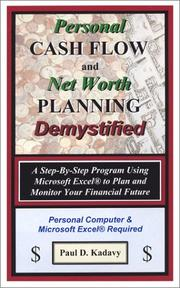 Cover of: Personal Cash Flow and Net Worth Planning Demystified