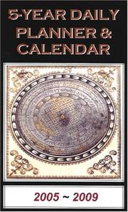Cover of: 5-Year Daily Planner & Engagement Calendar