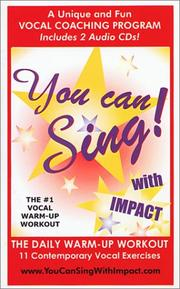 Cover of: You Can Sing With Impact! (Book & 2 CDs)