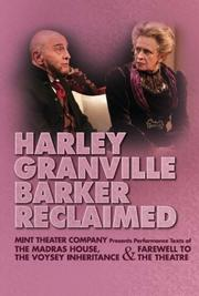 Cover of: Harley Granville Barker Reclaimed