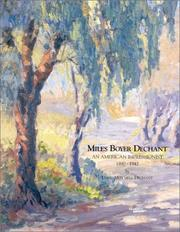 Cover of: Miles Boyer Dechant | David Mitchell Dechant