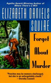 Cover of: Forget about murder