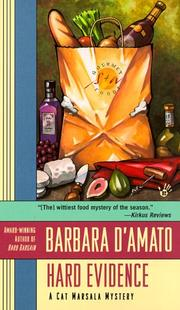 Cover of: Hard evidence: a Cat Marsala mystery