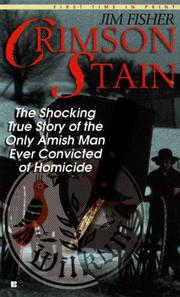 Cover of: Crimson stain