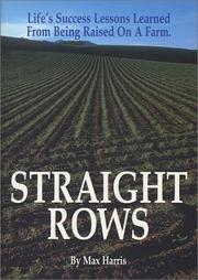 Cover of: Straight Rows