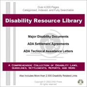 Cover of: Disability Resource Library