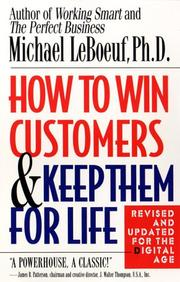Cover of: How to win customers and keep them for life