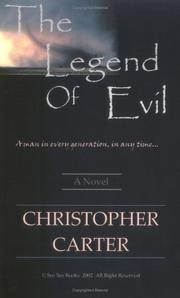 Cover of: The Legend of Evil | Christopher Carter