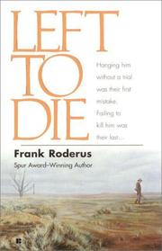 Cover of: Left to Die