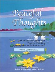 Cover of: Peaceful Thoughts | Robin Thumann