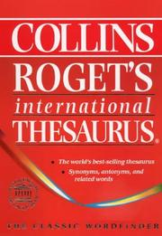 Cover of: International Thesaurus