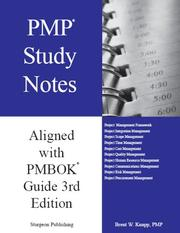 Cover of: PMP STudy Notes - Aligned with the PMBOK Guide