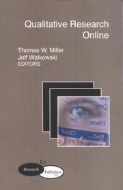 Qualitative Research Online by Thomas W. Miller, Jeff Walkowski