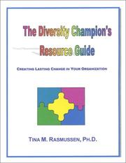 Cover of: The Diversity Champion's Resource Guide
