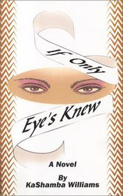 Cover of: If Only Eye's Knew