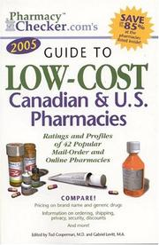 Cover of: Pharmacychecker.com