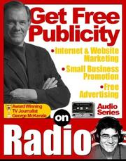Cover of: Get Free Publicity on Radio