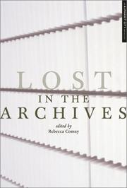 Cover of: Lost in the Archives
