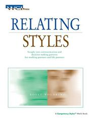 Cover of: Relating Styles